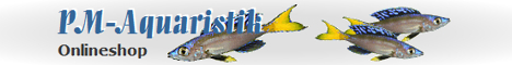 PM-Aquaristik Onlineshop - Banner
